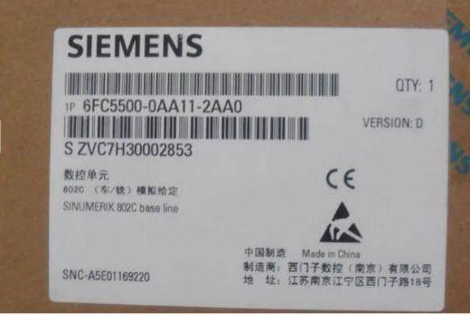 6FC5500-0AA11-2AA0 siemens CNC SINUMERIK 802C CNC Base line
