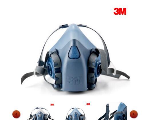 3M Half Facepiece Respirators 7500 Series