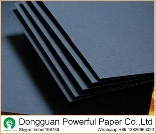 on sale 110g black paper thick black paperboard