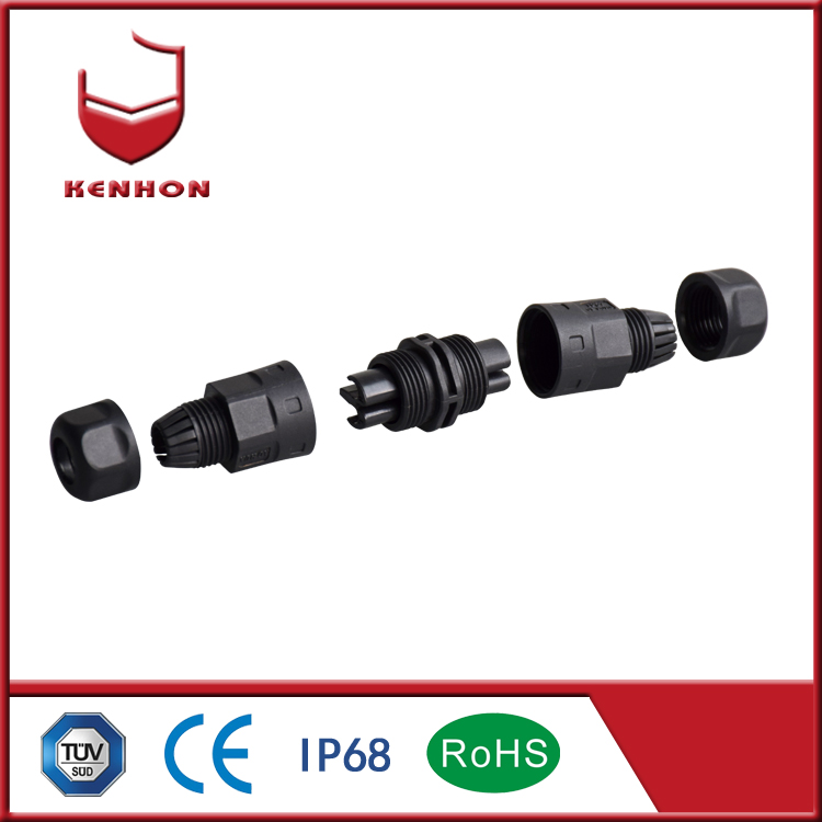 M20 IP68 waterproof bulkhead electrical cables for outdoor electrical connection