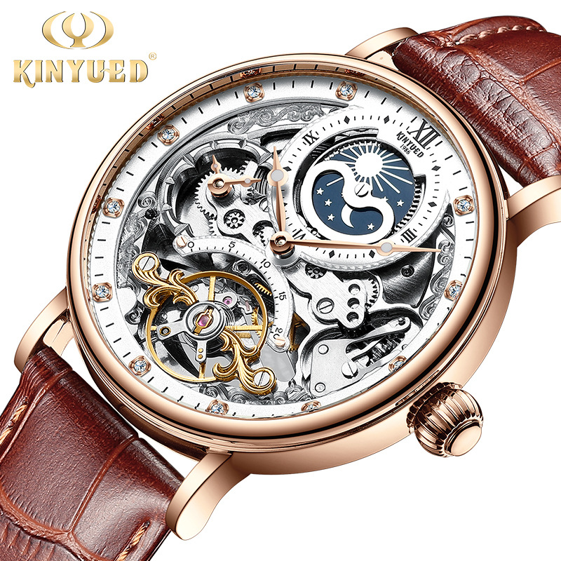mechanical watches custom made logo China factory
