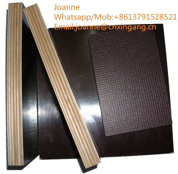 1220244018 mm brown film faced plywood for construction