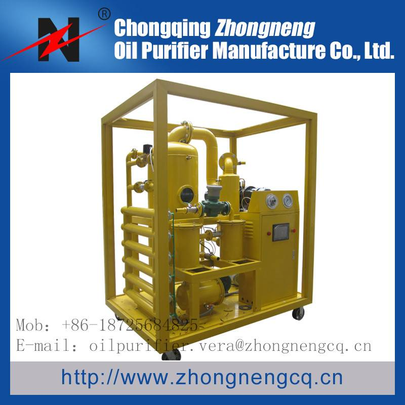 Insulation oil purifier with double-stage vacuum purification Series ZYD