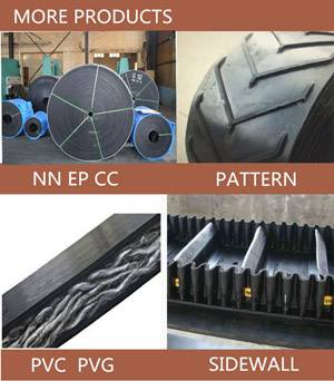 Whole Core PVC Flame Retardant Coal Mining Conveyor Belt with Good Price