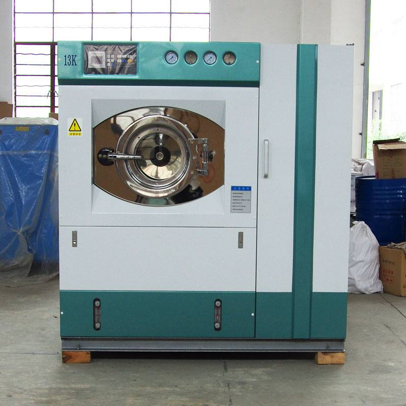 Dry cleaning machine, dry cleaner