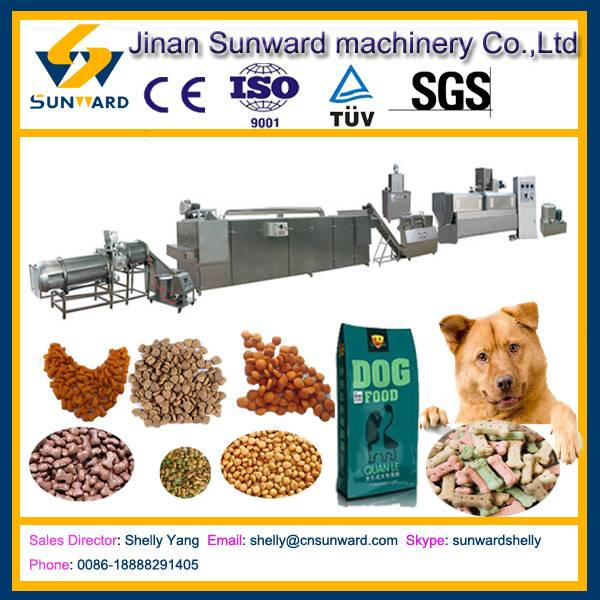 Stainless steel dog food machine, pet food extruder machine
