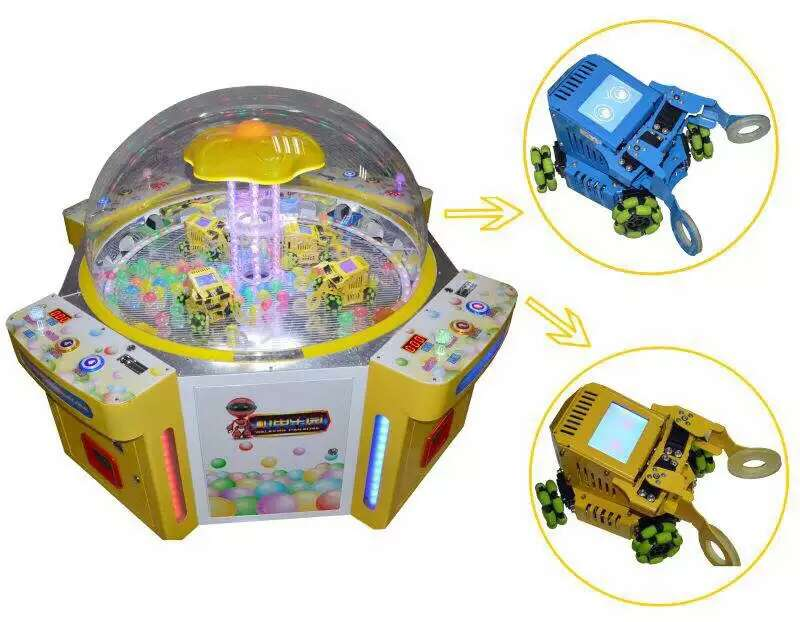 hot sale Coin opreated push candy game machine candy pushing game for four