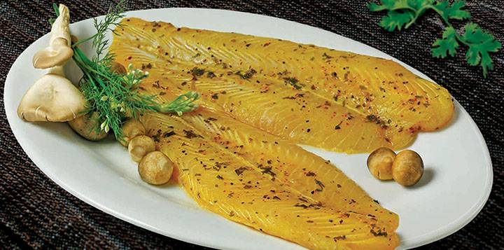 Marinated Pangasius ( Coriander Lime)
