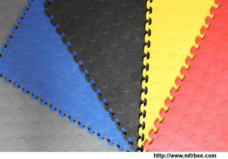 pvc interlocking floor mat