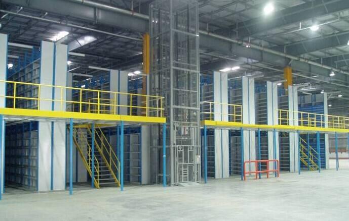 Factory direct sale mezzaninr racking floor