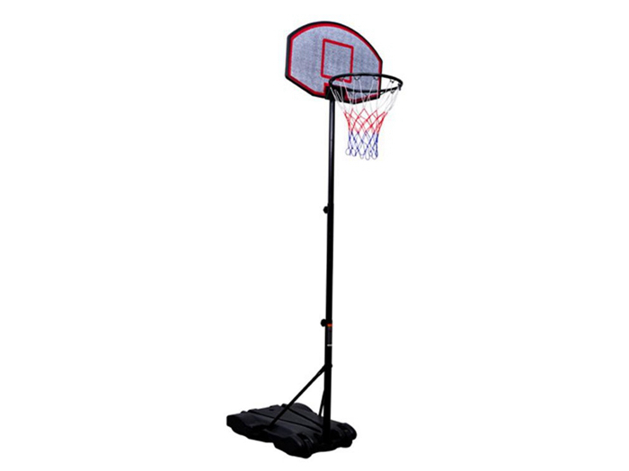 Youth Indoor or Outdoor Adjustable Height Portable Basketball Hoop Set