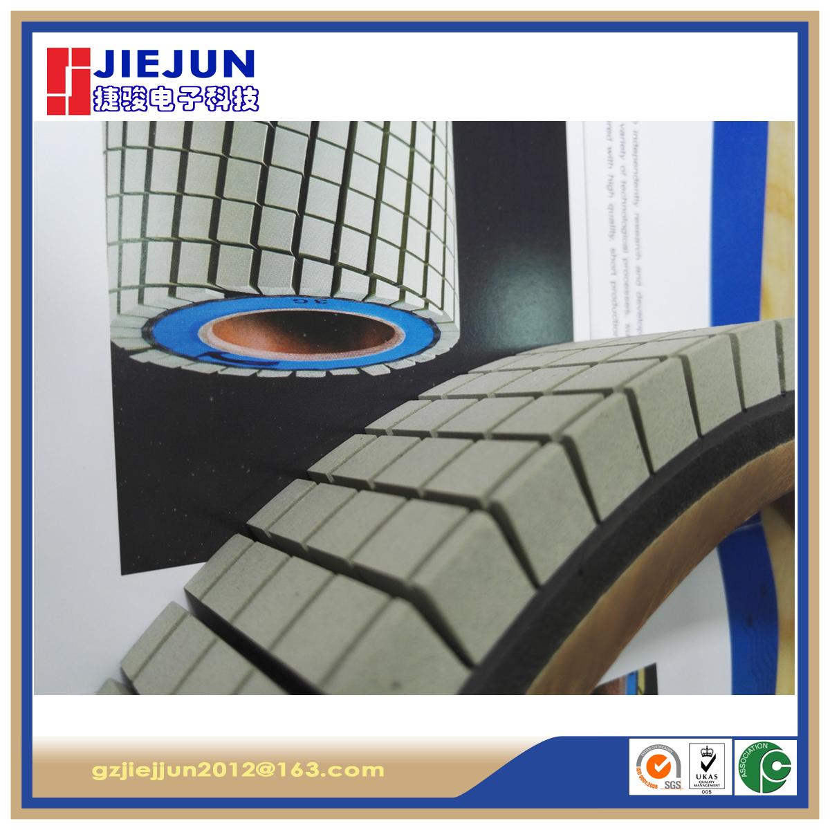 ceramic brush roll for PCB brushing machine