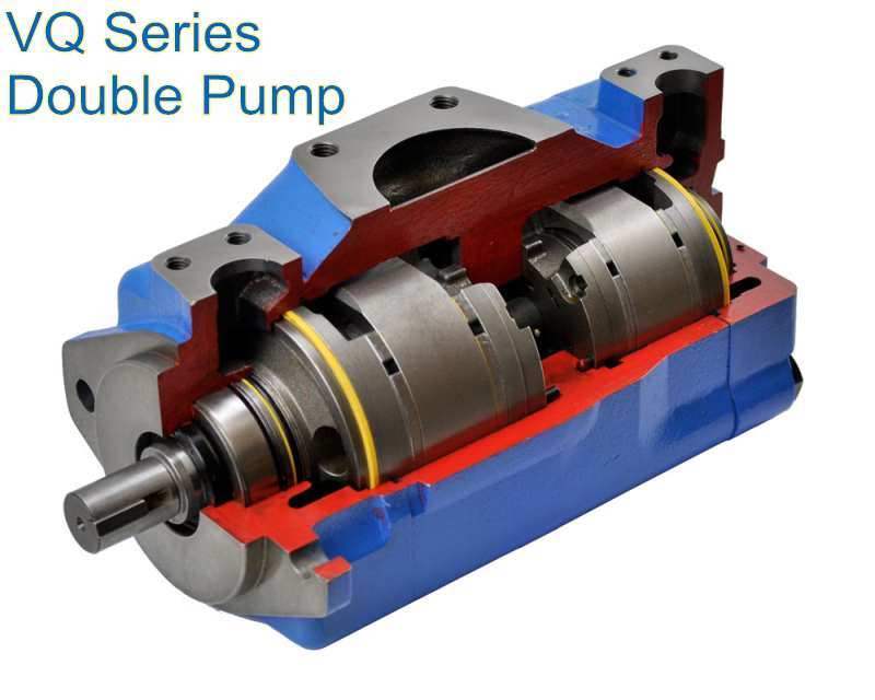 Hydraulic Rotary Vane Pump 4535VQ Vicker Series Double Pump