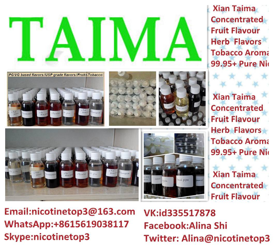 Hot sell high quality pure nicotine for E-liquid by Xian Taima