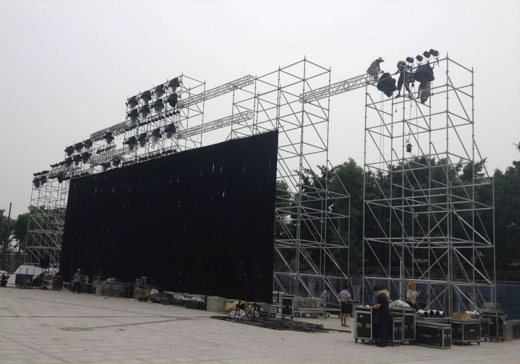 P8mm Stadium Sports LED Display Ground Stand LED Advertising Banner Video Screen