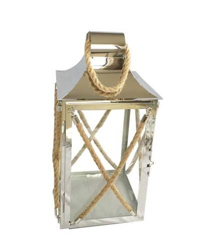 Stainless steel metal hangable lattice candle lanterns