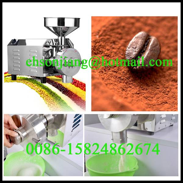 corn maize flour grinder mill/corn crushing machine functional spice grinder mill