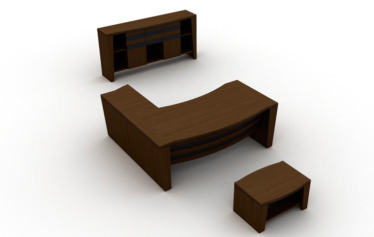 Modern Design Manager Office Desk