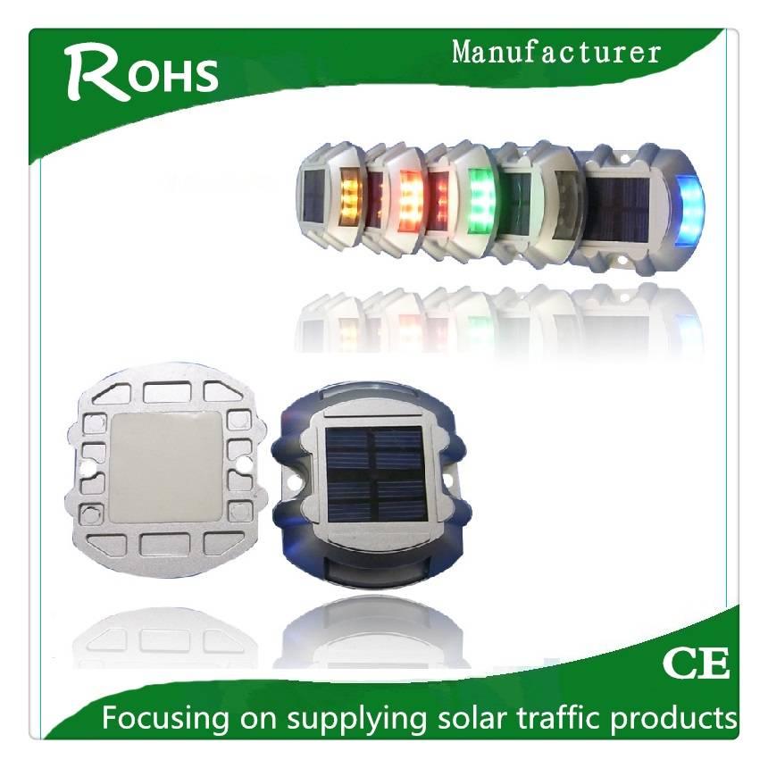 IP68 high flashing aluminium led cat eye solar powered leds road stud solar road safety studs