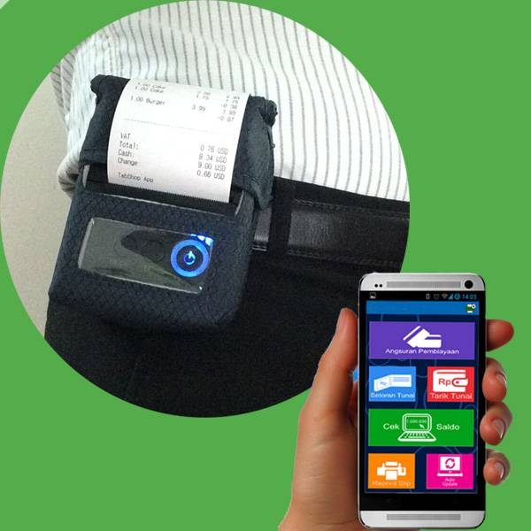 58mm Mobile Printer For Android