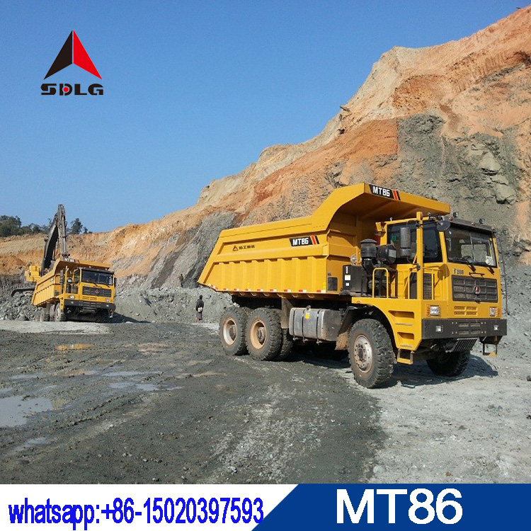 SDLG 88T mining truck MT86 with best quality for sale