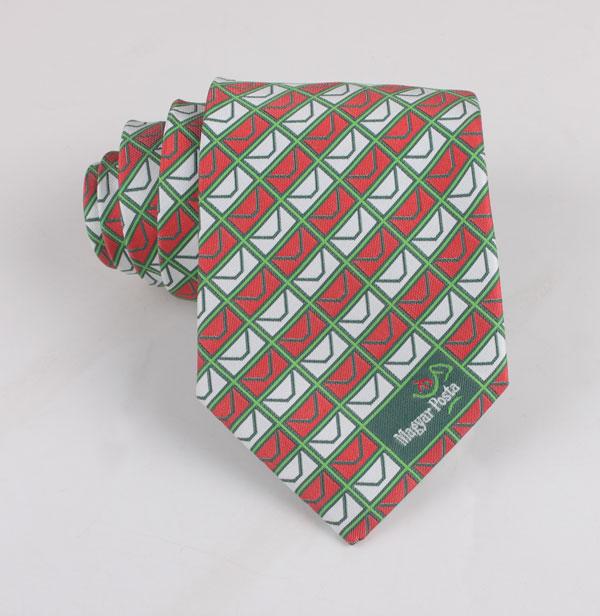 Checked Woven Necktie