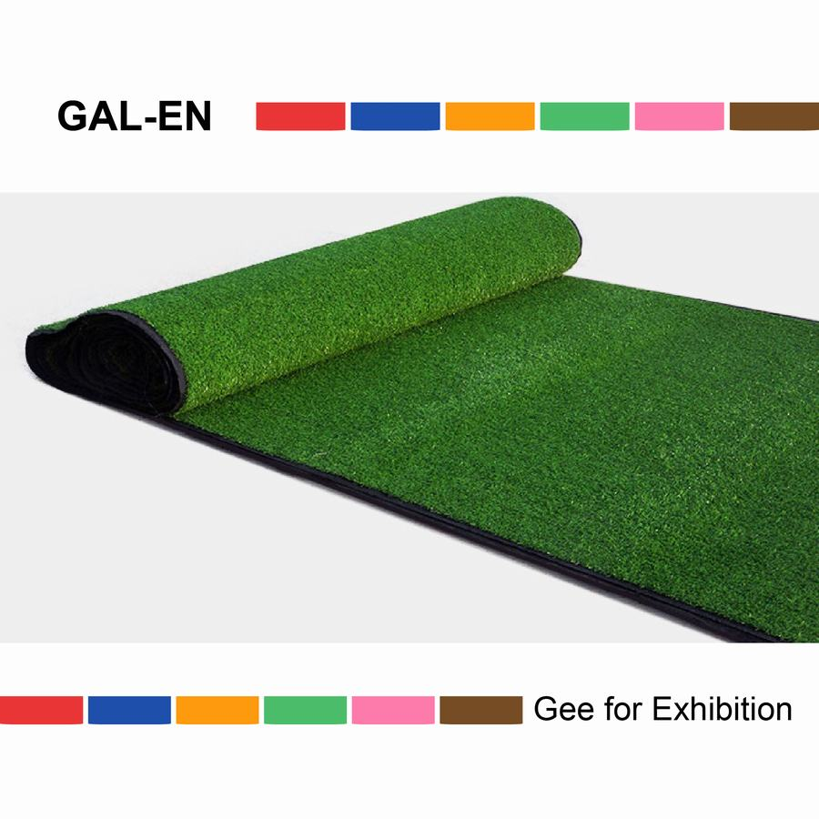 Non infill synthetic turf grass for kids football field or landscaping garden