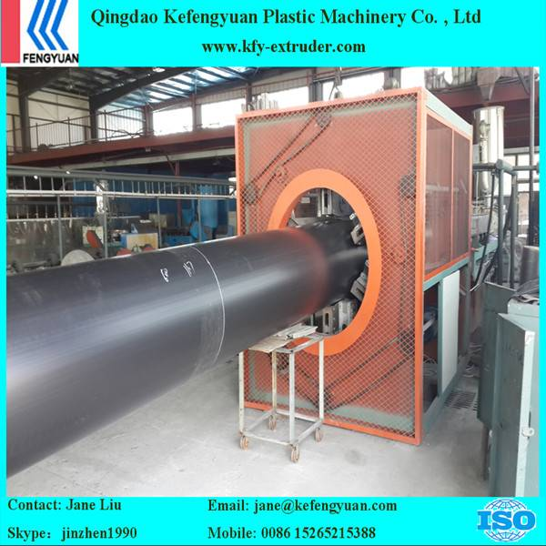 HDPE Pre insulated jacket pipe production line