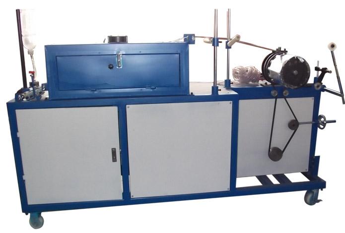 insulated aluminum flexible duct machine ATM-600A