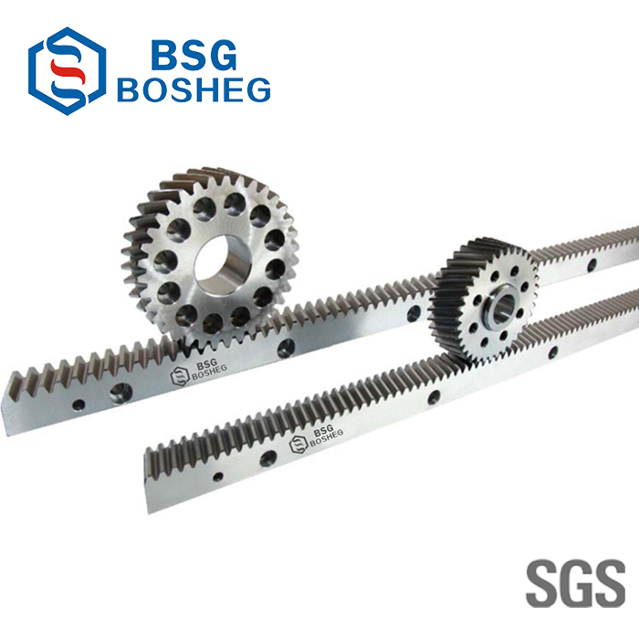 Gringding CNC Steel Gear Rack Pinion for Automatic Machine (BHGS1.5-10)