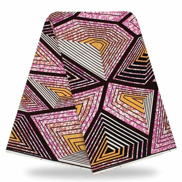 Hot Sale New Design Wholesale 100% Polyester wax fabric African