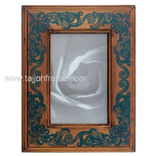 High Quality Screen Printing Wooden Photo Frame