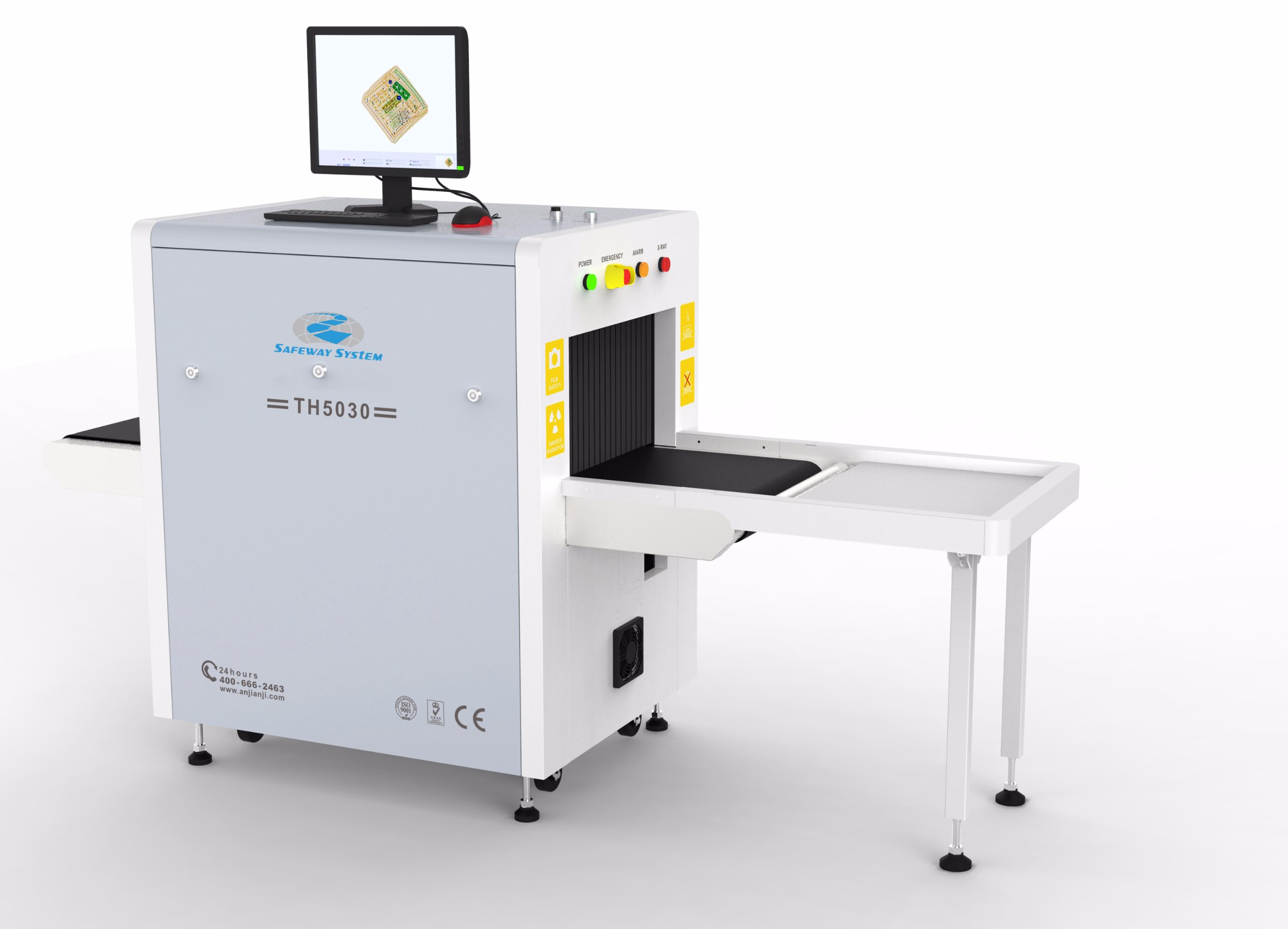 Th5030 X Ray Baggage Scanner Small Size X Ray Machine