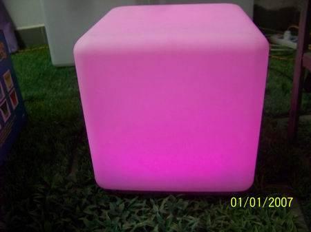 Nice Large Furniture LED PartyAcrylic led chair light & led cube seat lighting furniture