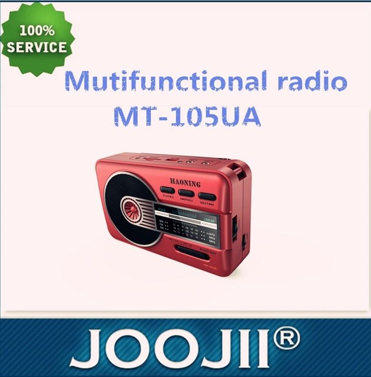 FM/AM/SW 3 band radio with USB port &SD card slot