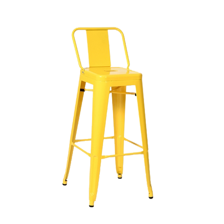 Wholesale Furniture High Bar Chair Vintage Metal Bar Stool Industrial