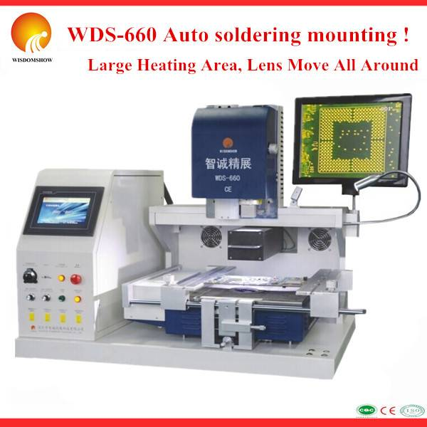 Bga Rework Station WDS-660 Automatic Bga Soldering Machine , BGA Electronic Parts Repair Xbox360