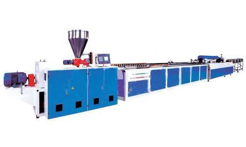 wood plastic profile extrusion line plastic machines