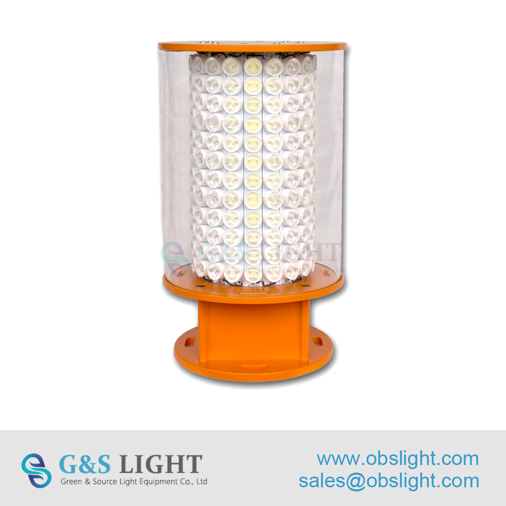 High-intensity Type A Aviation Obstruction Light