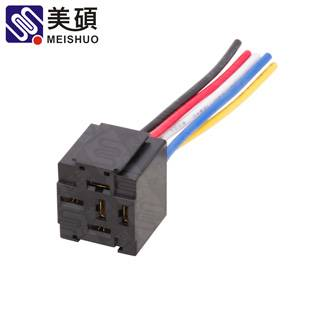 MEISHUO MSB socket female wire connector harness relay socket