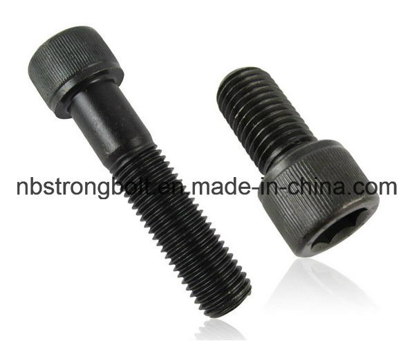 DIN912 Hex Socket Head Cap Screw with Grade 12.9 Black