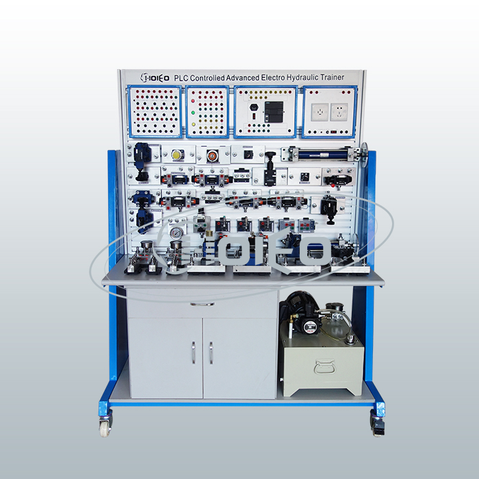 CFH-105 PLC Controlled Advanced Electro Hydraulic Trainer