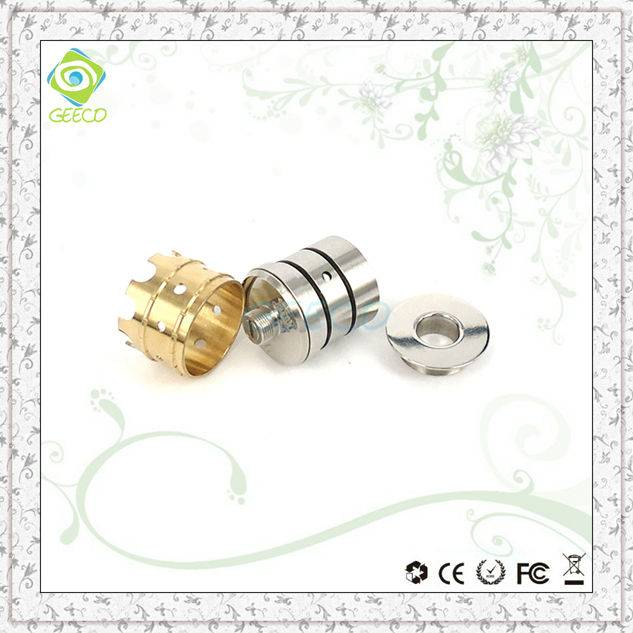 Geeco Electronic clone crown atomizer dripper mod wholesale from china atmos vaporizer