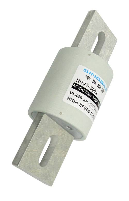 UL/EV/HEV fuse-links, comes in cylindrical shape and bolted connection, 700V, 700A, 100kA