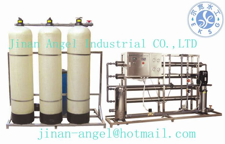 2 T RO water treatment equipment for high quality drinking water