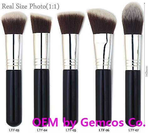 Gemcos Foundation Brushes (BR-105) (Excellent Quality Korean products)