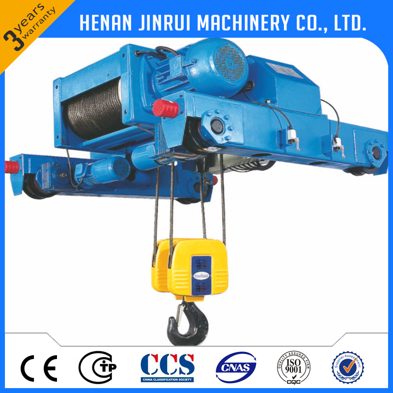 Low Headroom Electric Hoist Manufacturing According to Factory Dimension