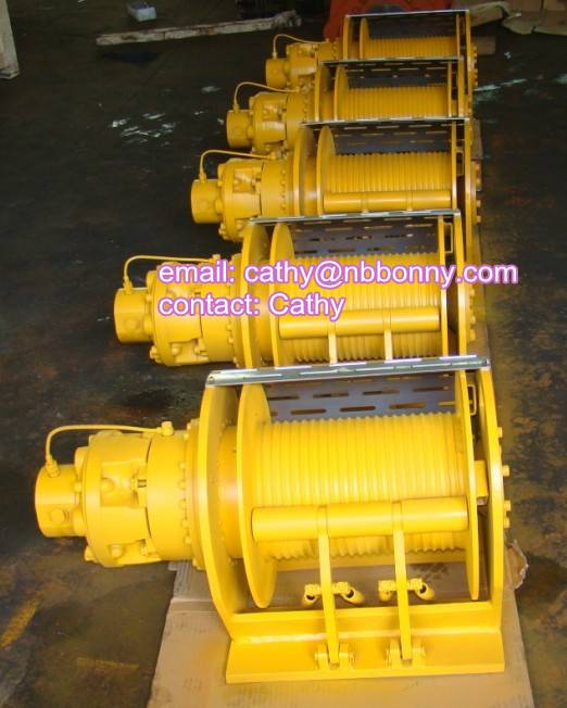 drilling rig hydraulic winch