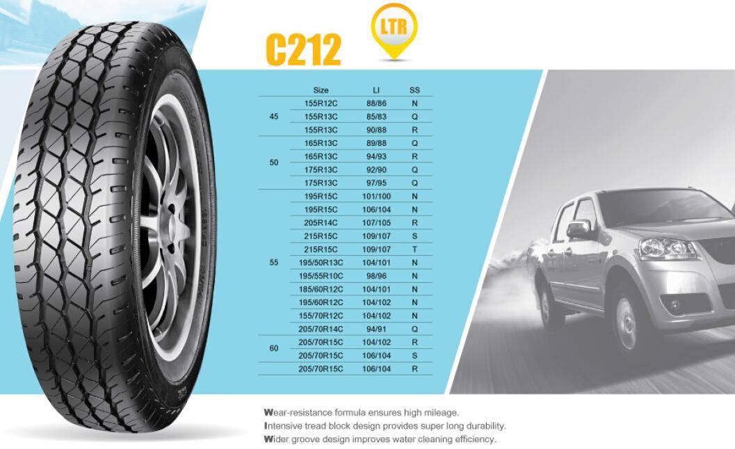 LTR CAB Tire Economic Tire C212