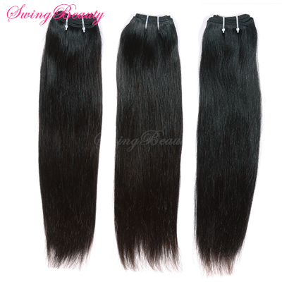 Top Grade Factory Wholesale 100% Raw Human Hair Weaving Weft Extension